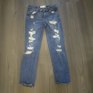 Women's garage ripped jeans size: 1